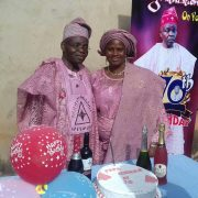 Pa Adewole Rolls Out The Drums at 70 as Guests Extol his Good Character