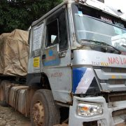 Customs Intercepts Another Dangote Truck Carrying Smuggled 700 Bags of Rice