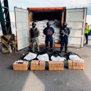 Ecuadorian Navy Finds Cocaine Aboard Containership