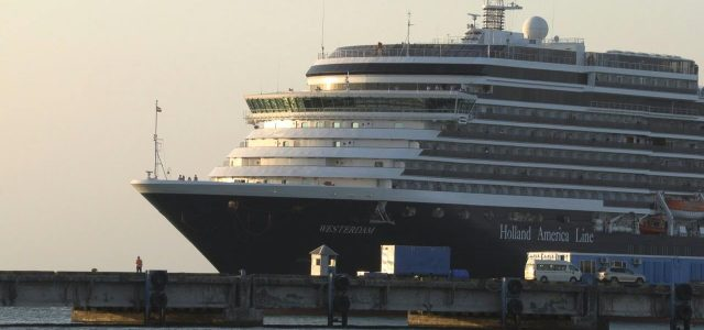 Cruise Ship Banned in 5 Nations over Coronavirus Fears Arrives in Cambodia