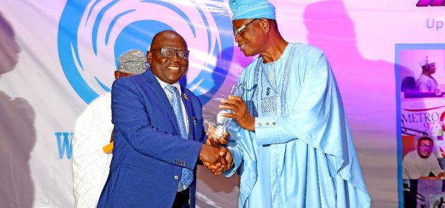 MD NPA Receives Award of Meritorious Service  from  FRCN