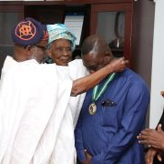 SIFAX Group Chairman, Dr Afolabi, Installed Grand Patron City Profs Educ Foundation