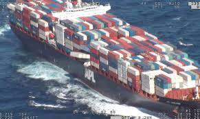 Singaporean Cargo Vessel Loses 40 Containers in Rough Seas