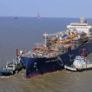World's largest LNG Bunkering Ship Arrives in Rotterdam