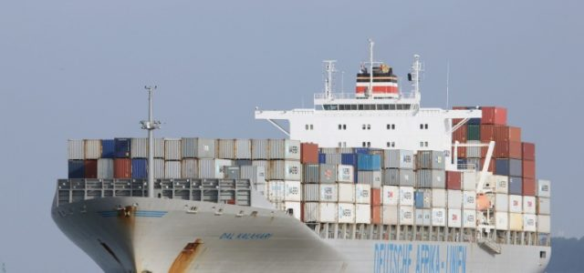 How Container Vessel  Collided with Greek Naval Ship
