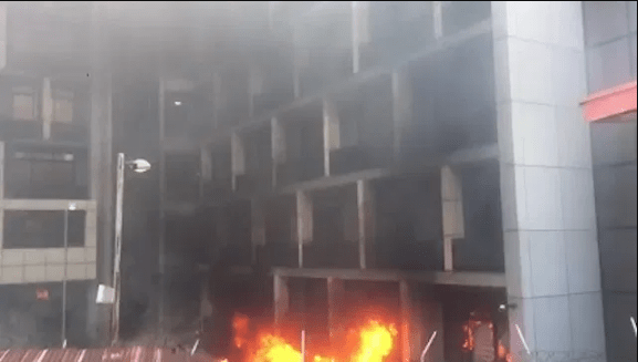 ENDSARS Protests: NPA Takes Stock of Damage to Headqtrs Bldg