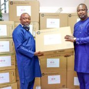NPA Receives Computers& Accessories Donations from Josepdam