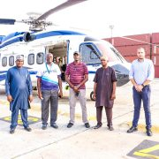 NPA Receives 19- Seater Special Helicopter at PTML, Tin Can