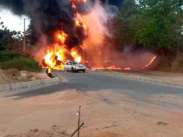 Explosion: Ogun Bans Articulated Vehicles from Bridges, Proposes Stiffer Sanctions