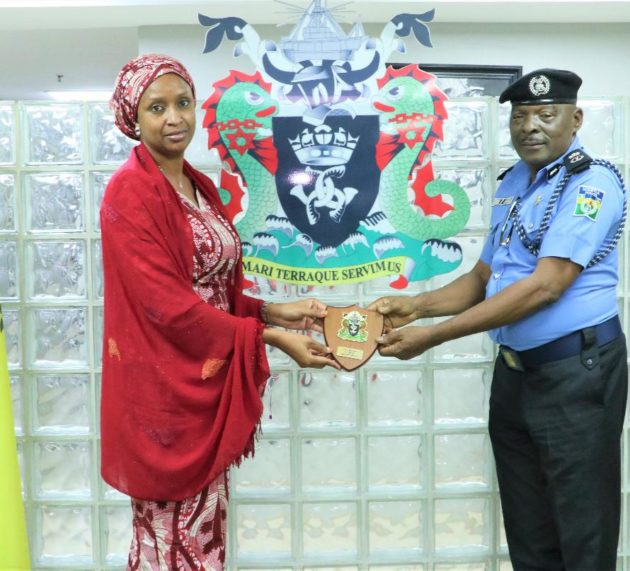MD NPA Receives New Ports Authority  Western Police Commissioner