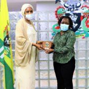 NPA MD, Hadiza  Usman  Hosts Perm Sec , Transport Ministry