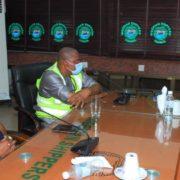 ES/CEO, Shippers' Council  Hosts Lagos Traffic & Enforcement Compliance Team