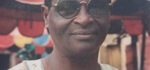 Late Mayor Philip Fadeyi for Burial March 26, 2021