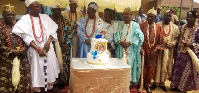 Ootunja- Ekiti  Indigenes Celebrate King Fagbamila 11 at 80