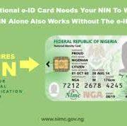 FG  Warns Nigerians again  over Linkage of SIM to NIN