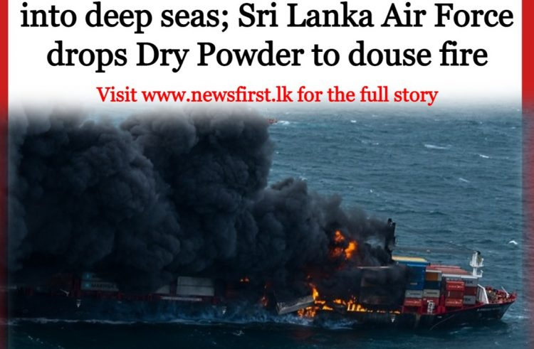 Containers Tumble into Sea as Vessel Burns for 6 Days