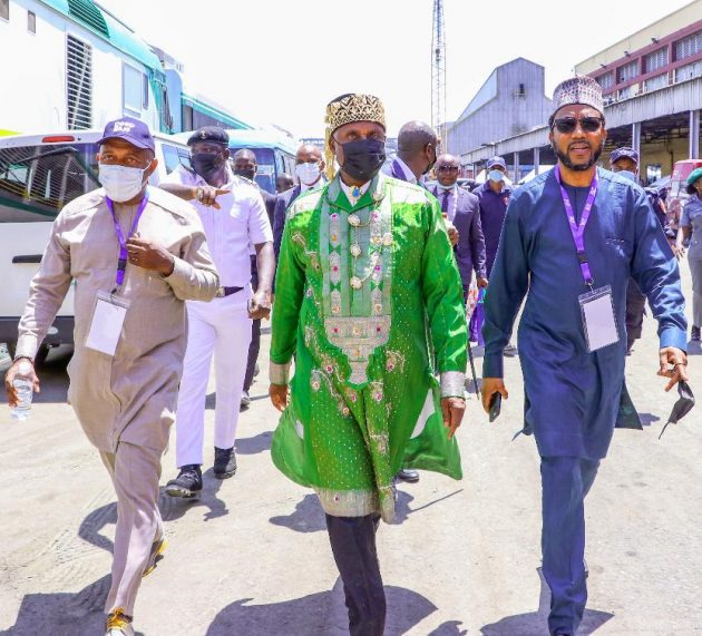 NPA Management at Commissioning of Nigeria's New Maritime Security Project