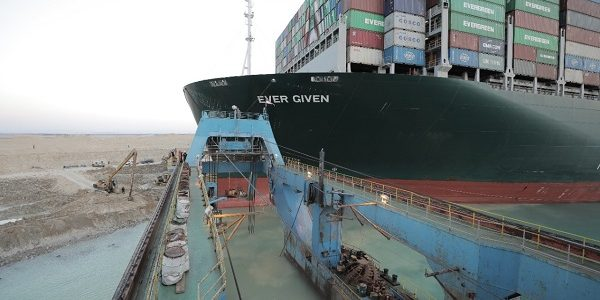 Ever Given Finally  Departs Egyptian Waters
