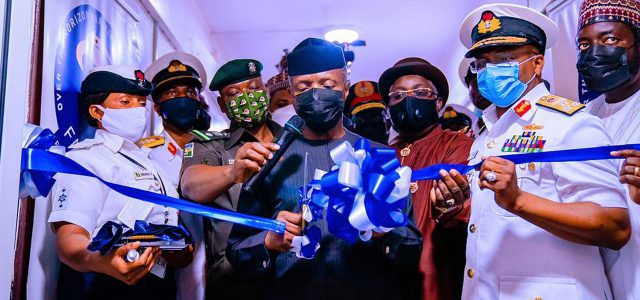 FG Says Falcon Eye Will Assist Navy to Combat  Crimes on Nigerian Waters