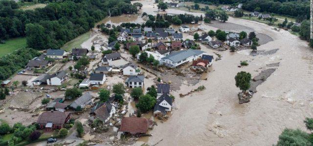 Over 60 dead, Dozens Missing as Severe Floods Hit  Europe