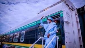 Buhari Says  $1.2bn Kaduna-Kano Railline  Will Strenghten Lagos Ports, ICDs