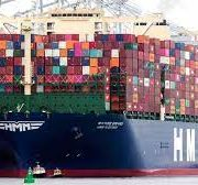 World's largest Container ship Makes  First Crossing through Suez Canal