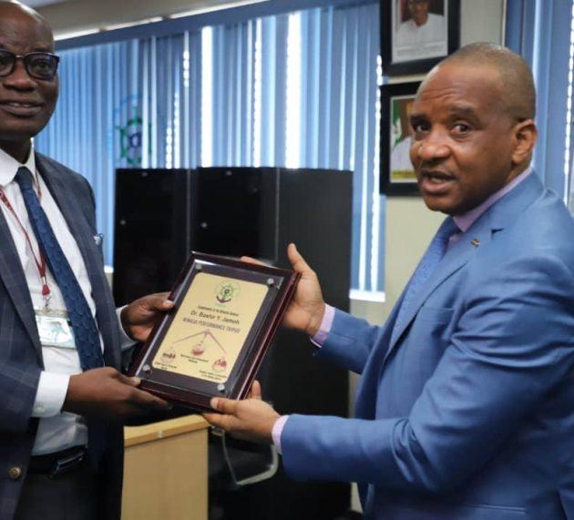 Photo News: NIMASA Partners UNILAG  on Knowledge Advancement
