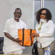 Dr Afolabi , GEVC, SIFAX  Group Hosts Apapa LG Chairman,Hon Shobanjo