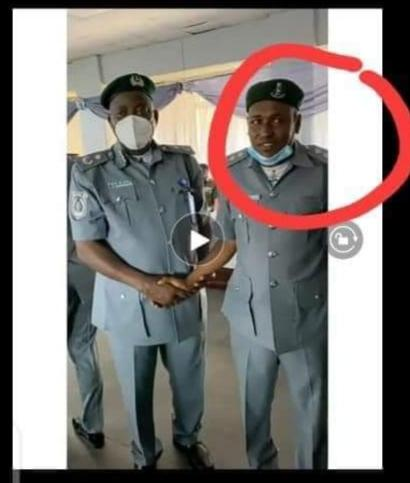 Newly  Promoted Nervous DSC In Viral Video Not a Bandit- Customs